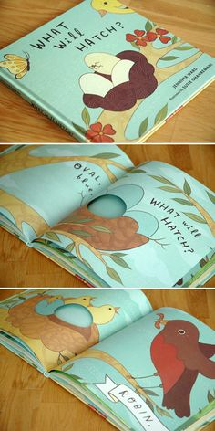 What Will Hatch? » My friend illustrated this lovely book! It's so whimsical and perfect. Have you read it?