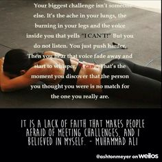 I always say Believe2Achieve! Forget all the reasons why it won't work and believe the one reason wh...