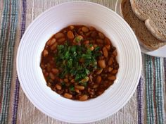 Vegan Cannellini Bean Stew from www.vegfusion.org