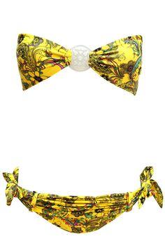 Soak Swimwear Peace Bandeau.  It's sold out, FML.