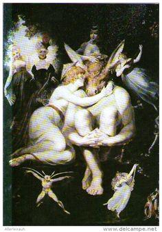 Akrobaten, Odin und die Midgardschlange, Faun - Druck,  aus Westermanns…