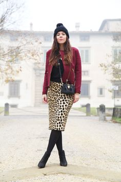 #fashion #fashionista #ireneccloset longuette leopard
