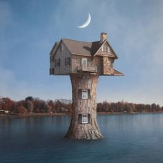 Dream House. Surrealism and Photography come Together . By Luigi Quarta.