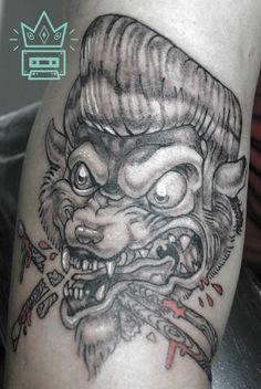 #tattoo #tatuaje #gatorockabilly #rockabillycat