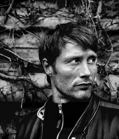Mads Mikkelsen :: Seriously what a gorgeous, interesting face. Love. <3