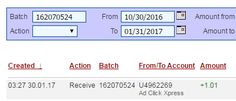 Sick of the sight of google and mozilla, do you want a new search engine? Proceed to use ACX a search engine and be paid daily for your search, this is my proof of payment with ACX a search engine! You can MAKE MONEY ONLINE just by working for 10 to 15 minutes daily at Ad Click Xpress. It is very easy to MAKE MONEY ONLINE at Ad Click Xpress. ACX is PAYING DAILY to its customers. This is NOT SCAM because I am getting paid daily at ACX and I can withdraw my daily earning any time I wish. Here…