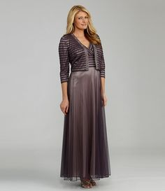 Patra Beaded Jacket Dress | Dillards.com