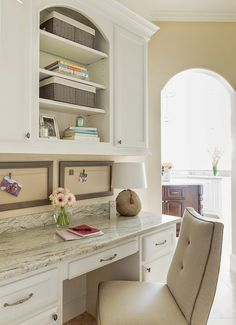 kitchen desk area marker girl home - Kitchen Desk Ideas