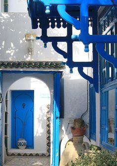 Sidi Bou Said, Tunisia Sidi Bou Said, Islamic Society, Carthage, Grand Entrance, Parcs, Culture Travel, North Africa, Adventure Awaits, Windows And Doors