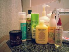 "Attention to all curly haired/ ""Mixed Chicks"": these are some of the products I use to keep my curls hydrated, clean, conditioned, and smelling goood during the season. Don't let Canada's brittle winters effect your lovely ringlets! If you're in Toronto, CA there is a store on Yonge St. With 100% natural hair, makeup and body products where I purchase most of mine called HoneyFig. Google it !"