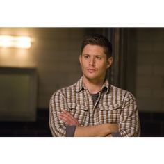 Jensen Ackles ❤ liked on Polyvore featuring jensen ackles