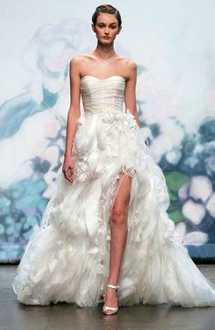 Daring 2012 Wedding Dresses—Show a Little Leg | OneWed