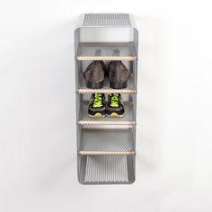 Tica Copenhagen   Shoe rack grey   Storage   Closet