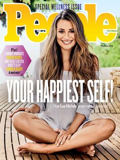 How Lea Michele Got In the Best Shape of Her Life: 'I've Never Loved My Body More' Lea Michele auf dem Cover der Wellness-Ausgabe des People Magazine People Magazine, Celebrity Moms, Celebrity Weddings, Lea Michele Glee, Lea And Cory, Rachel Berry, Love My Body, Glee Cast, Cory Monteith