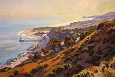 Malibu John Comer Canvas Giclee