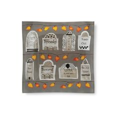 """Found it at Wayfair - Tombstones 6"""" Square Tempered Glass Plate"""