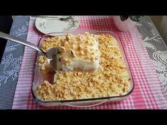 Sütlü tatlı sevenler bu kolay tarifimizi çok beğeneceksiniz. Son günlerin modası borcam tatlısını beğenmeyen çıkmayacak eminim. Herkesin yapabileceği Macaroni And Cheese, Food And Drink, Banana, Cake, Ethnic Recipes, Desserts, Youtube Youtube, Sweets, Deserts
