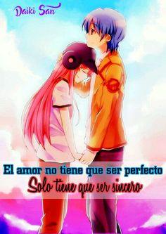 Daiki San Frases Anime El amor no tiene que ser perfecto