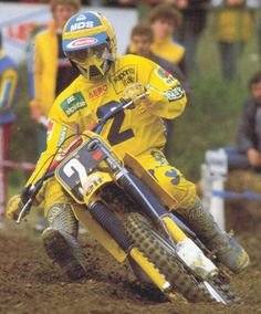 Michele Rinaldi - World Champion 125cc. - 1984