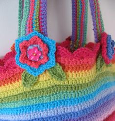 Day to Day: Crocheted bag.