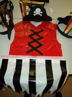 mar i tu y cia: Diy Costumes, Halloween Costumes, Carnival Crafts, Holidays And Events, Pirates, Children, Kids, Diy And Crafts, Apron