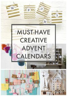 Advent Calendar Roundup with lots of stylish, colourful and different advent calendars for any family home. Click through to find out more - what's your favourite? Christmas Wood, Christmas Candles, Scandinavian Christmas, Modern Christmas, Christmas Gift Tags, Christmas Crafts, Christmas Trees, Christmas Stockings, Xmas