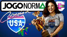 Cruis'n USA (Nintendo 64) #1: Estreando S-Video Pelo Framemeister!
