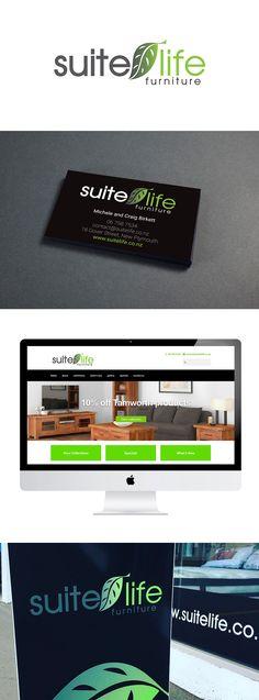 Suite Life Furniture - rebrand and website design by Design Garage