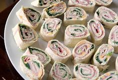 Look Who's Cooking Too: Tortilla Pinwheels- absolute party snack (did I say EASY?)