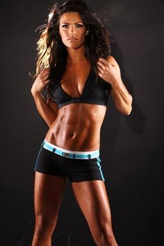 lighting on her abs is fabulous #fitness #motivation #workout #gym