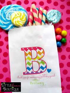 Hey, I found this really awesome Etsy listing at http://www.etsy.com/listing/128695684/chevron-candy-bags-chevron-initial