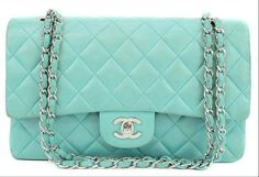 CHANEL : Vintage Mint Chanel Bag | Sumally