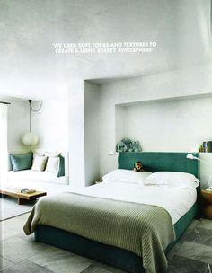 Elle Decoration August 2015  Lousie Galvin's Ibiza villa Designer: Ilse Crawford Photography: Michael Paul/Living Inside  Kid's Bedroom Signal S1333 table lamps: Jean Louis Domecq