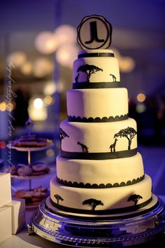 south african themed wedding cakes safari jungle king tropical rainforest wedding theme 20289