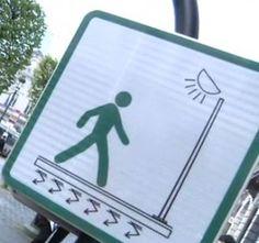 Mobilité et énergie | Toulouse, France | Un trottoir intelligent qui utilise l'énergie cinétique produite par le piéton pour alimenter l'éclairage public