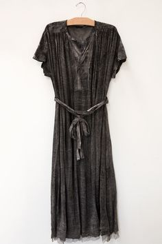 pas de calais grey dress