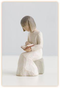 Wisdom - Girl - Willow Tree - Susan Lordi