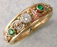 Celtic Frame Ring by Walker Metalsmiths Celtic Jewelry