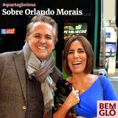 Hoje Gloria fala sobre sua admiração por Orlando Morais e sobre o longo caminho que percorreram juntos até aqui. Confira em mais uma Quarta Gloriosa! <3