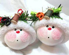 Artículos similares a Luces adorno Color rojo rosa azul púrpura elección de Townsend personalizado regalos de la Navidad en Etsy