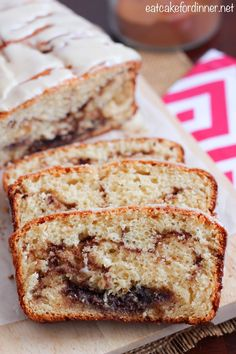 Eat Cake For Dinner: Cinnamon Roll Quick Bread