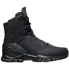 The Oakley SI 6 Boot is your 6 inch lightweight ticket to comfort. Built for PT and light use this boot will lighten your load. Made with and advanced synthetic Tactical Clothing, Tactical Gear, Oakley Tactical, Oakley Military, Men's Shoes, Shoe Boots, Fashion Shoes, Mens Fashion, Luxury Fashion