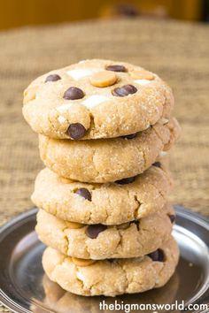 Loaded Healthy No Bake Cookies