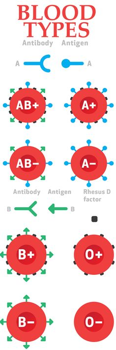 Learn more about blood types and transfusions.