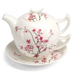 Tea For One Set - Cherry Blossom