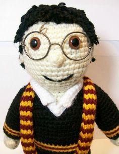 Harry Potter Amigurumi Crochet Patterns : Harry Potter crochet on Pinterest Harry Potter Dolls ...
