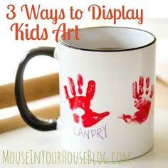 3 WAYS TO DISPLAY KIDS ART WITH ZAZZLE