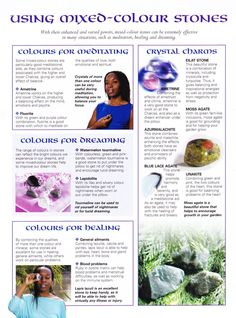 Crystals Stones:  MBSC #Stones ~ Using Mixed-Color Stones.