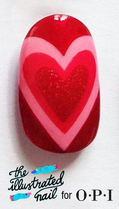 Nail creations by other people who are way more talented than I am! Great Nails, Cute Nail Art, Cute Nails, Diy Nail Designs, Nail Polish Designs, Opi, Valentine Nail Art, Valentines, Finger Nail Art