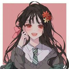 Pretty Anime Girl, Beautiful Anime Girl, Kawaii Anime Girl, Anime Art Girl, Manga Girl, Anime Girls, Art Et Illustration, Character Illustration, Desu Desu